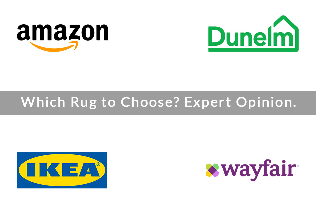 Which rug to choose; Ikea, Amazon